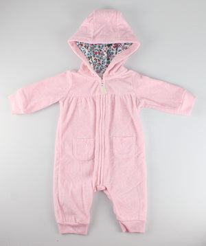 CARTERS FLEECE PJS 3-6M EUC