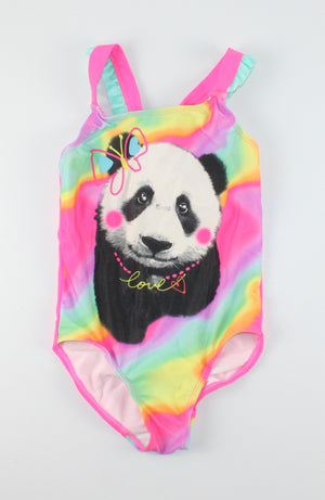 GEORGE PANDA SWIMSUIT 6Y EUC