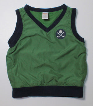 GYMBOREE GOLF VEST 2-3Y EUC
