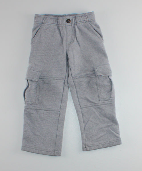 GYMBOREE GREY TRACK PANTS 3T VGUC
