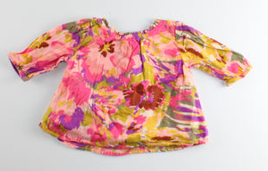 GAP BLOUSE 3-6M EUC