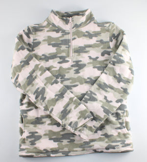 TCP CAMO FLEECE PULLOVER 16Y EUC