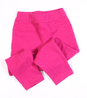 CANDY COUTURE PINK COTTON PANTS 2T VGUC