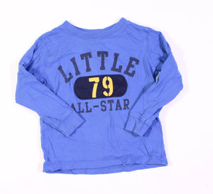 CARTERS BLUE LS TOP 24M EUC