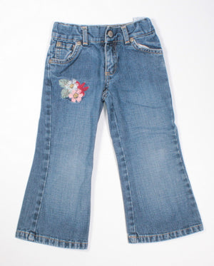 OLD NAVY EMBROIDERED JEANS 3Y VGUC