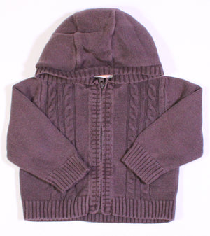 JOE FRESH BROWN SWEATER 6M VGUC