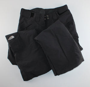 NORTH FACE BLACK SNOWPANTS LADIES SMALL EUC