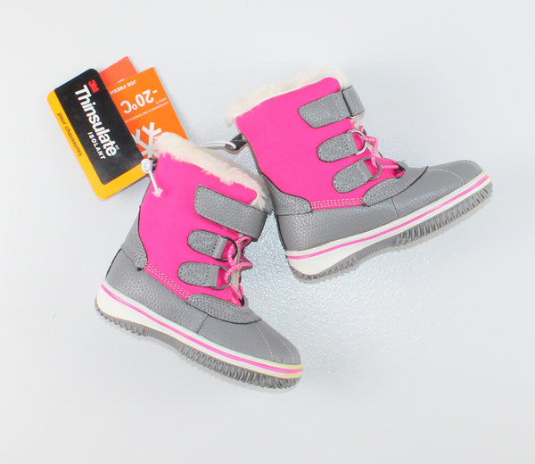 JOE FRESH THINSULATE WINTER BOOTS TODDLER 7 NEW!