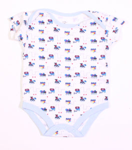 GEORGE TRAIN ONESIE 0-3M EUC