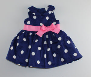 CARTERS NAVY DRESS 3M EUC