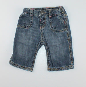 OLD NAVY JEANS 0-3M EUC