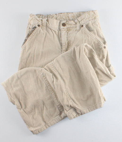 TCP CORDUROY TAN PANTS 7Y VGUC