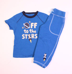 GYMBOREE SPACE OUTFIT 3Y VGUC/EUC