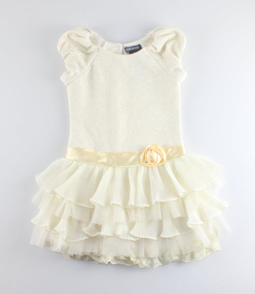 NEWBERRY IVORY DRESS 3Y VGUC
