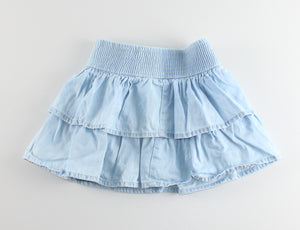 OSH KOSH LIGHT DENIM SKIRT 3Y EUC