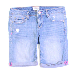 AEROPOSTALE JEAN SHORTS LADIES 5/6 EUC