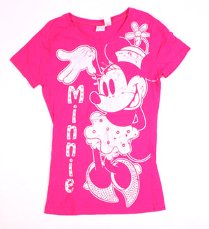 DISNEY MINNIE MOUSE TEE LADIES XS VGUC
