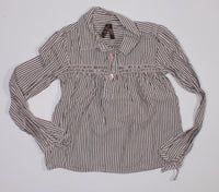 OLD NAVY STRIPED TOP 4T EUC