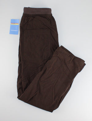 WOODLAND BROWN THICK LINED PANTS 14Y NEW!