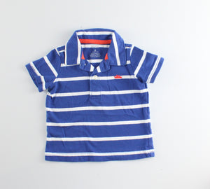 CARTERS STRIPED TEE 6M EUC