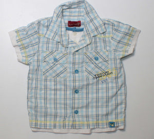 BUM KIDS TOP 6-9M EUC