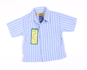 DRILL BLUE DRESS SHIRT 3T NEW!