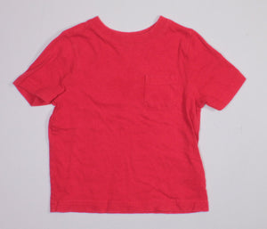 OLD NAVY RED TEE 18-24M VGUC