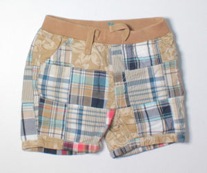 TCP PLAID SHORTS 3-6M EUC