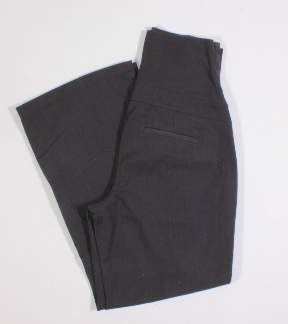 THYME GREY MATERNITY DRESS PANTS SIZE SMALL EUC