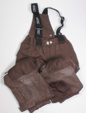 CRUSH BROWN SNOWPANTS 4Y PC