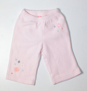 GYMBOREE PINK FLEECE PANTS 3-6M VGUC