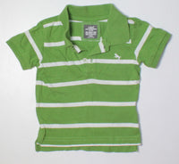 H&M GREEN TOP 4-6M VGUC/EUC