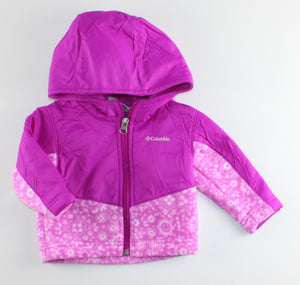 COLUMBIA FLEECE JACKET 3-6M EUC