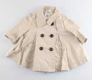 GAP TAN TRENCHCOAT 0-6M EUC