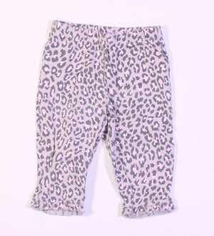 CARTERS ANIMAL PRINT COTTON PANTS 6M EUC