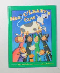 MTS O'LEARY'S COW HARDCOVER BOOK EUC