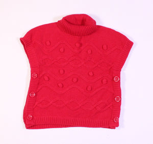 GYMBOREE RED SWEATER 12-18M EUC