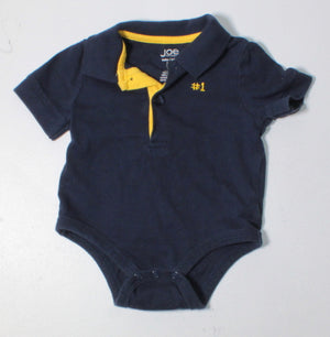 JOE FRESH NAVY ONESIE 3-6M EUC
