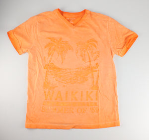 JOE FRESH ORANGE TEE 10-12Y VGUC