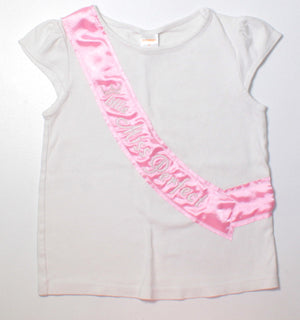 GYMBOREE MISS PERFECT TEE 5Y VGUC