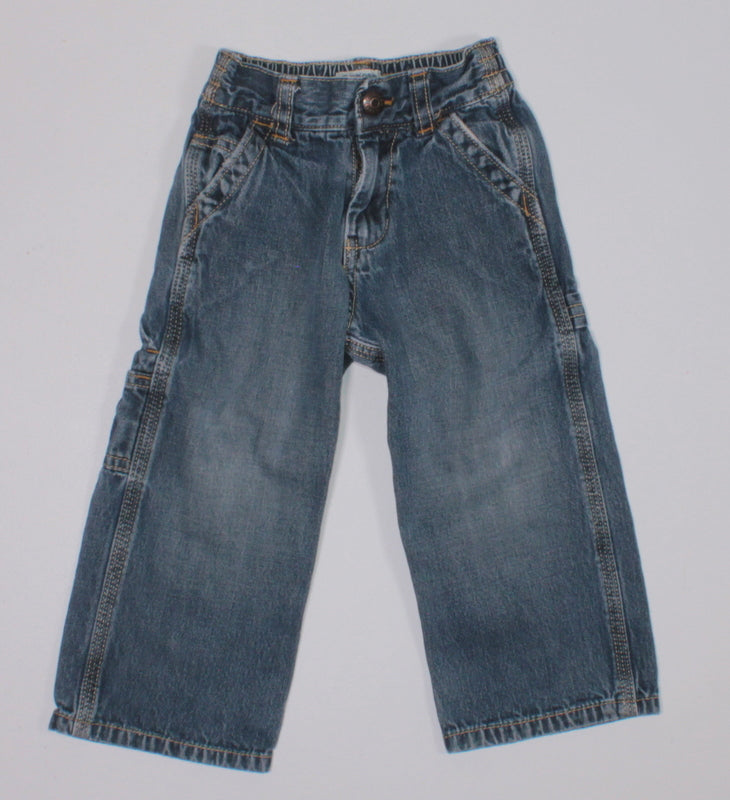 OSH KOSH CARPENTER JEANS 2Y VGUC