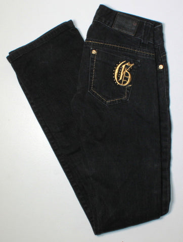 GUESS DARK WASH JEANS LADIES SIZE 23 EUC
