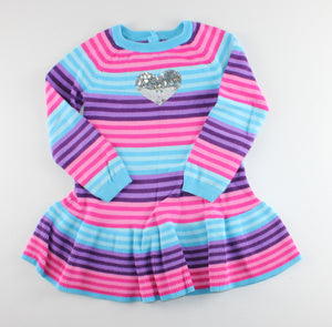 PEKKLE SWEATER DRESS STRIPED 5Y VGUC/PC