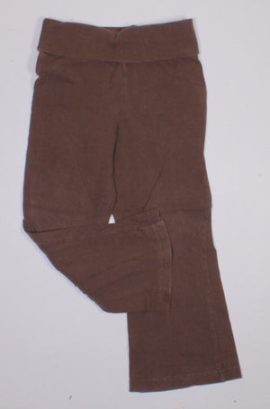 OLD NAVY BROWN YOGA PANT 3YR VGUC-GUC