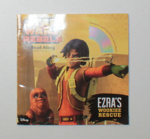 STAR WARS REBELS BOOK & CD EUC