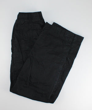 CIRCO BLACK PANTS JERSEY LINED 12-14Y EUC