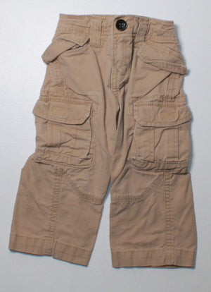 GAP TAN CARGO PANTS 12M VGUC
