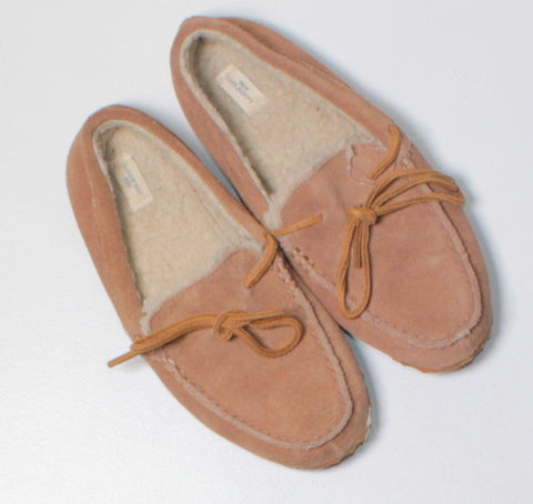 LANDS END SOFT SLIPPERS YOUTH 3 EUC
