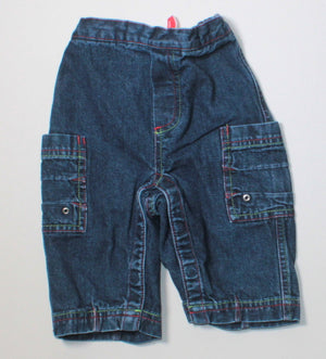 HANNA ANDERSSON JEANS 80 (18M-2Y) VGUC