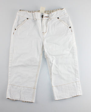 JOE FRESH WHITE LONG SHORTS 10Y VGUC/EUC